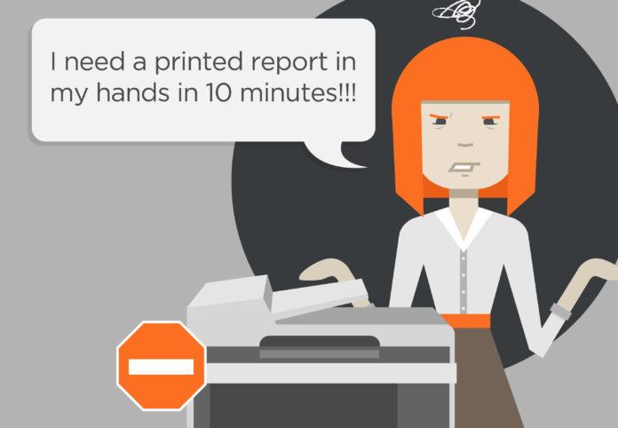 Cách sửa lỗi máy in không in được